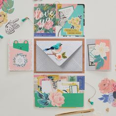 How to Create a Piece of Happy Mail Snail Mail Pen Pals, Handwritten Letters, Happy Mail, Mail Art, Book Making, Valentine Crafts, Blank Cards, Hobbies And Crafts
