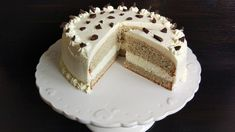 Tort low-carb. Lchf, Vanilla Cake, Food And Drink, Low Carb, Gluten, Recipes, Fat, Keto Desserts, Recipies