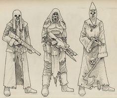 Redemptionist Cawdor - Necromunda - Warhammer 40K - GW [by Saevus]