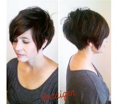 Krótkie fryzury dla dojrzałych kobiet 40+ - galeria modnych fryzur z grzywką, pixie cut, asymetrycznych. Propozycje prosto z salonu fryzjerskiego!