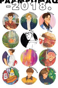Kpop Drawings, Cute Drawings, Cute Illustration, Character Illustration, Cute Notes, Kpop Fanart, Art Studies, Cute Stickers, Cute Art