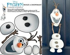 Olaf for door decor
