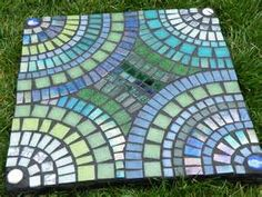 mosaic stepping stones - Bing images