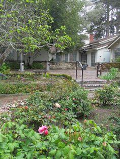 Monterey Museum, La Mirada. Rose garden