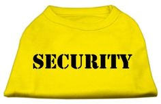 Mirage Pet Products 12-Inch Security Screen Print Shirts for Pets, Medium, Yellow *** For more information, visit image link. (This is an affiliate link and I receive a commission for the sales)
