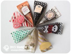 BLOG HOP & VIDEO: Stampin Up Holiday Catalog – Sour Cream Treat Pouches | Stampin Up Demonstrator - Tami White