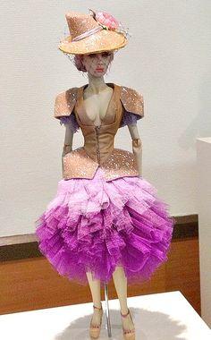 https://flic.kr/p/e3LvdB | Sybarite | From Paris Doll Festival. Sunday salesroom OOAK from Superfrock.