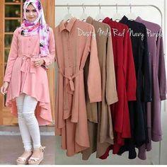 Baju Muslim Atasan Gisa Tunik Trendy - http://bajumuslimbaru.com/baju-muslim-atasan-gisa-tunik #BajuMuslimOnline, #JualBajuMuslim