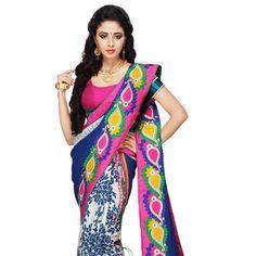 #Blue #Silk #MekhlaChadar with Blouse Silk Sarees Online, Indian Style, Indian Fashion, Kimono Top, Sari, Blouse, Collection, Tops, Women