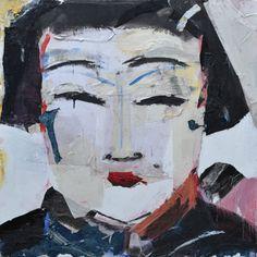 Portrait Jean Michel Aucler Technique mixte sur toile Dimensions: 100 cm x 100 cm  Mixed media on canvas Dimensions: 39,3 in. x 39, 3 in. CONTACTEZ NOUS Voir également : OEUVRES D'ART