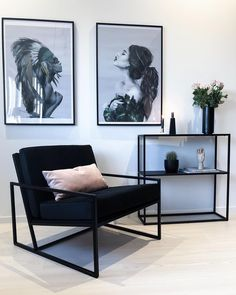 Wohnzimmer - My Dream Home - Phone Cases Home Living Room, Interior Design Living Room, Living Room Designs, Living Room Decor, Bedroom Decor, Interior Livingroom, Home Office Design, House Design, Wall Design