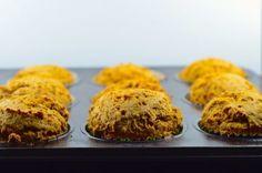 2-ingredient pumpkin muffins