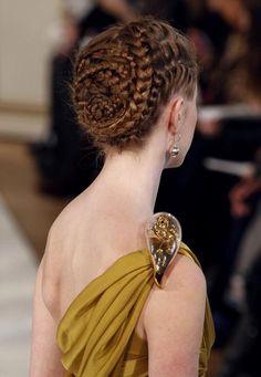 Spiral french and dutch braids.