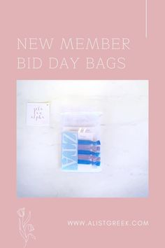 Celebrate your new members this recruitment with the Newbie Love bundle! Gift bag includes a sorority decal, hair tie set, and button set. Zeta Tau Alpha Gift Bags | Zeta Tau Alpha Bid Day | ZTA New Member Gifts | Zeta Tau Alpha Recruitment | Sorority Bid Day | Sorority Recruitment | Bid Day Bags | Sorority New Member Gift Ideas #BidDayGifts #SororityRecruitment Alpha Epsilon Phi, Alpha Sigma Alpha, Alpha Chi Omega, Sorority Bid Day, Sorority Recruitment, Bid Day Gifts, Delta Chi, Tie Set, Hair Tie