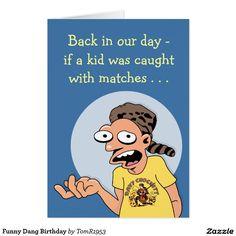 Funny Dang Birthday Card Greetings Greeting Cards Christmas