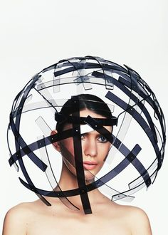 PERSPEX ORB - Thermal Bridge AW14 Keely Hunter Millinery.