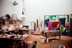 xenia hausner's studio