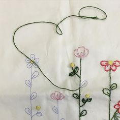 I'm straight up #stemstitching tonight.  My gramma died 10 years ago this June. This was her last project. Last stitch. My mom asked me to finish it for her then. I'm going to finally do it for Mother's Day.