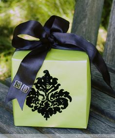 Elegant Gift Wrapping Embellishments | Share a Comment Cancel reply
