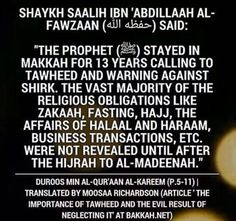 The most important thing to understand, believe and spread in Islam - Calling to Tawheed and warning against Shirk