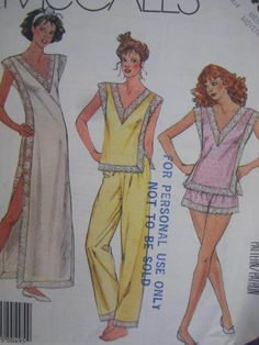 See Sally Sew-Patterns For Less - Nightgown