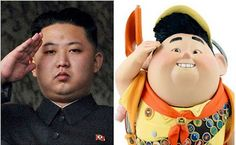 UP next to be the leader of North Korea:  Kim Jong Un (or is it really Russell?)