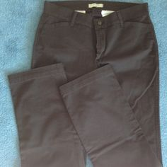 """Brown pants. Long Pants have front and back pockets, zip opening, belt loops. 12 long size.. Gently worn. Measurement from top of zipper to the crotch is 8"""". Inseam is 34. Riders by Lee Pants"""