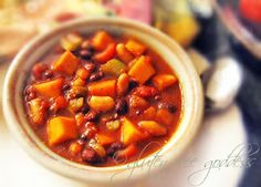 Rainy day here. Time for butternut chili ...