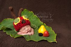 Very Hungry Caterpillar hat and photos