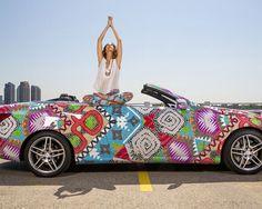 Mara Hoffman printed Bentley!