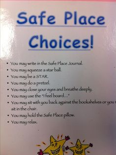 Conscious Discipline: safe place choices www.jaynamorrow.com #JaynaMorrow
