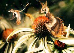 Daisy Dragons by Blue-Hearts on DeviantArt