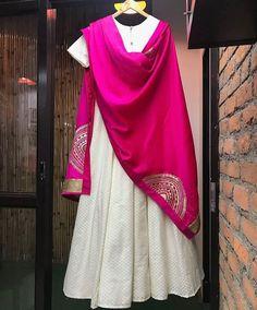 Indian Party Wear, Indian Wear, Pakistani Outfits, Indian Outfits, Ethnic Fashion, Indian Fashion, Women's Fashion, Cotton Anarkali Dress, Anarkali Patterns