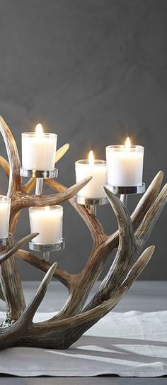 Antler Centerpiece | Christmas Decor