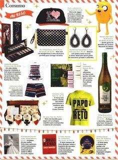 Um par de brincos da Elo7 foi publicado na Revista Ana Maria em matéria com sugestões de presentes de Natal.