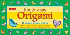Fun & Easy Origami Kit: [Origami Kit with 2 Booklets, 98 Papers] >>> To view further for this item, visit the image link.