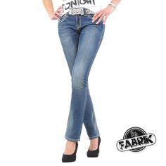 Alle Größen wieder im Webshop verfügbar:  www.stylefabrik-fashion.de/Blue-Monkey-Damen-Jeans-BM3063-Straight-Fit-mit-Stretch-und-weissen-Naehten-blau?fb=1  Damenjeans von Blue Monkey blau mit doppelten weißen Ziernähten und Stretchanteil.