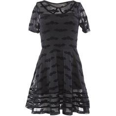 Women's Iron Fist Batty Dress Black at Amazon Women's Clothing store:
