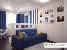 Картинки по запросу зонирование комнаты спальня гостиная