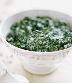 Creamed Spinach Photo - Spinach Recipe | Epicurious.com