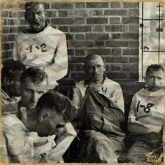 "Patients of ""The Ridge"", an old insane asylum in Athens, Ohio."