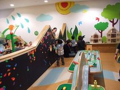 小さい子用 【神奈川県川崎市】キドキド 川崎ルフロン店 by ボーネルンド Kindergarten Interior, Kindergarten Design, Playroom Design, Library Design, Indoor Playroom, Preschool Classroom Decor, Baby Play Areas, Early Childhood Centre, Kids Indoor Playground