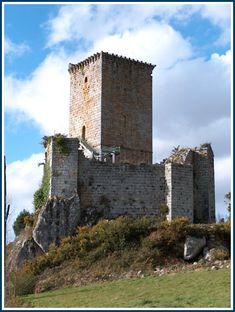 Castillo de Andrade-Pontedeume. La Coruña.