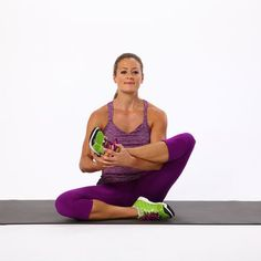 Fitness Tips : Sit, Then Stretch: 4 Pain-Relieving Moves For Your Glutes Post Workout Stretches, Hip Stretches, Stretching, Sciatica Stretches, Sciatica Relief, Thigh Exercises, Cardio Workouts, Fitness Exercises, New Shape