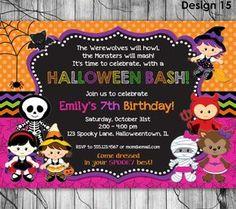 Este Articulo No Esta Disponible Halloween Birthday Party