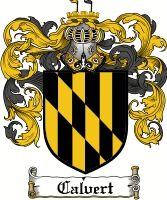 Calvert Family Crest / Calvert Coat of Arms