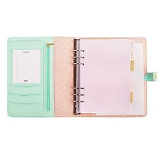 THIS IS THE ONE! Kiki K mint personal a5 size planner. I'd also like to add the weekly diary sheets.