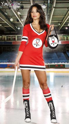 Sexy Hockey Player Costume $49.95