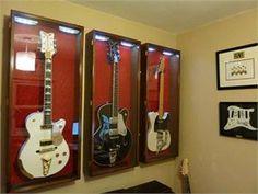 Guitar Display Cases at www.sfdisplay.com