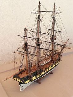 Ships of Scale Gallery Model Sailing Ships, Model Ships, Model Ship Building, Boat Projects, Wooden Ship, Nautical Art, Submarines, Tall Ships, Scale Models